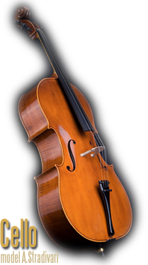 Violoncello, model A.Stradivari