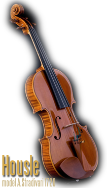 Housle, model A.Stradivari 1720